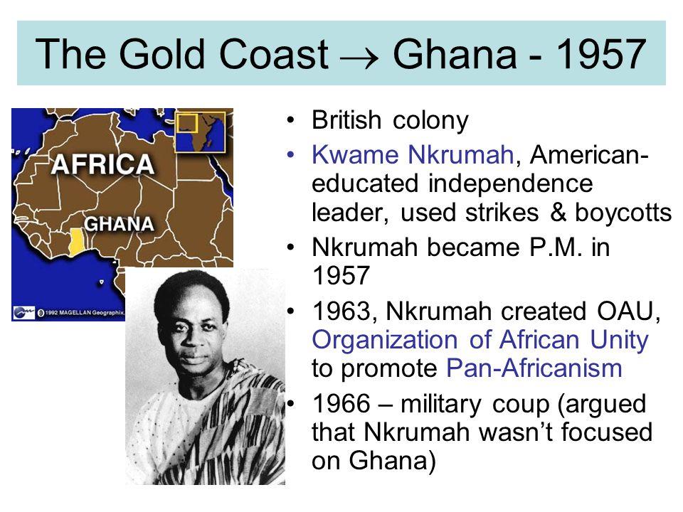The Gold Coast  Ghana - 1957 British colony