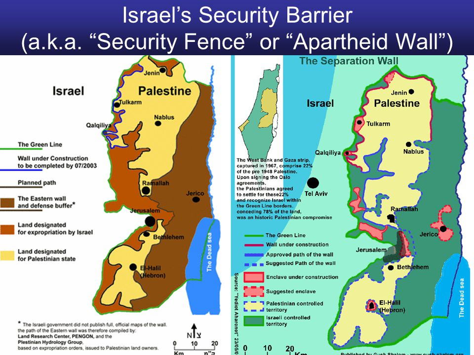 Israel's Security Barrier (a. k. a