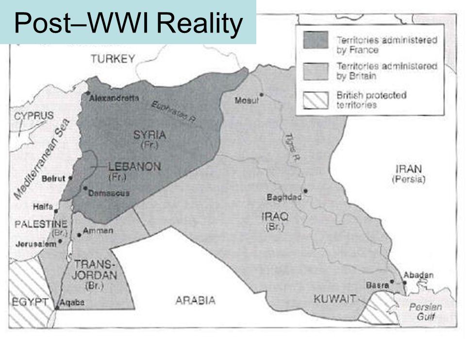 Post–WWI Reality