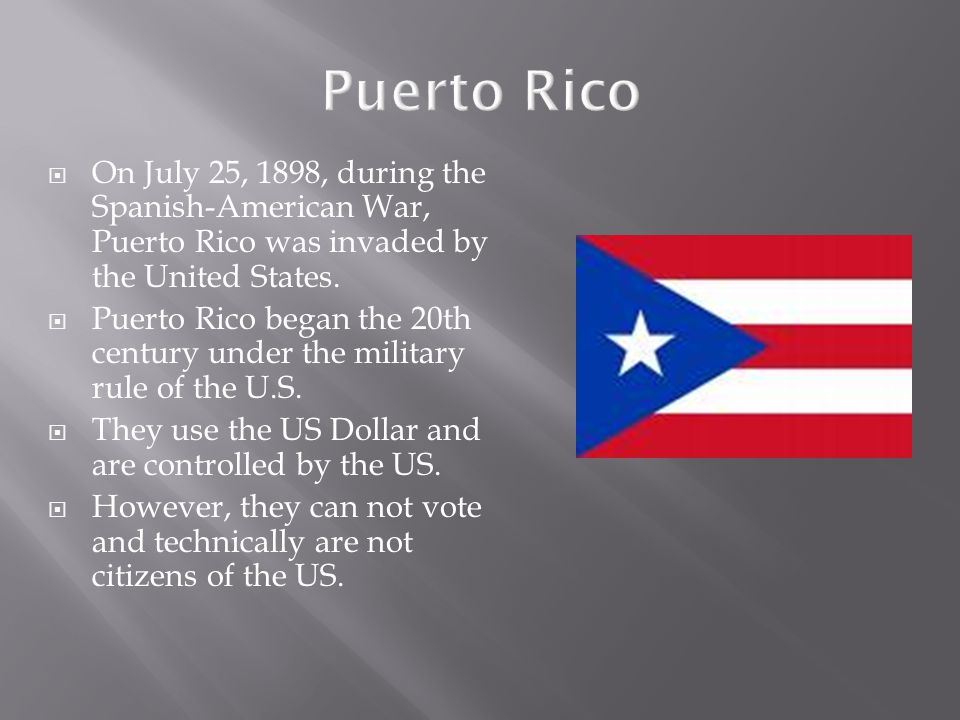 puerto rico under american rule essay Puerto rico colonization essays colonized people are people who have been   over by the united states in 1898 and the end of the spanish-american war.