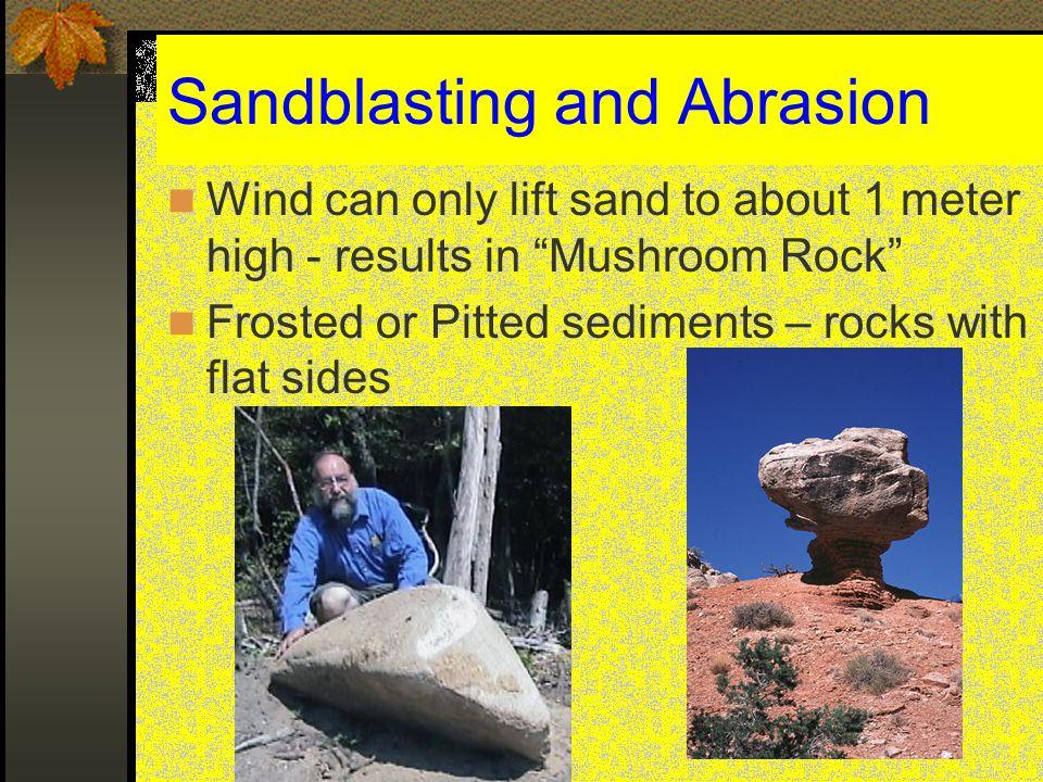 Sandblasting and Abrasion