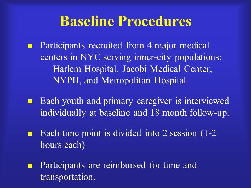 Baseline Procedures