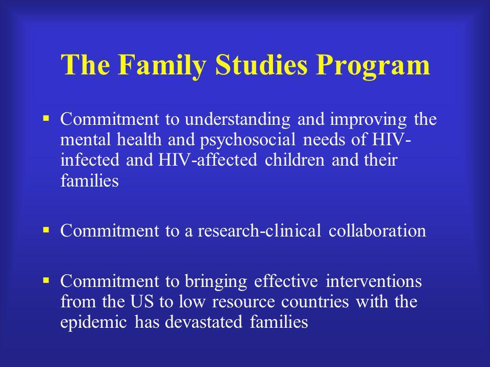 The Family Studies Program