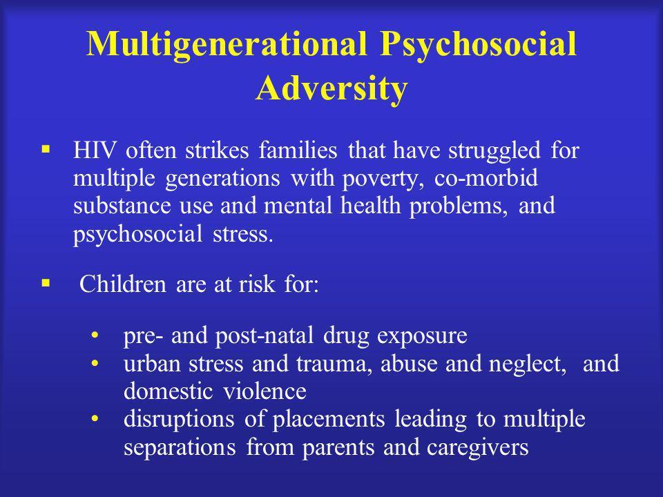 Multigenerational Psychosocial Adversity
