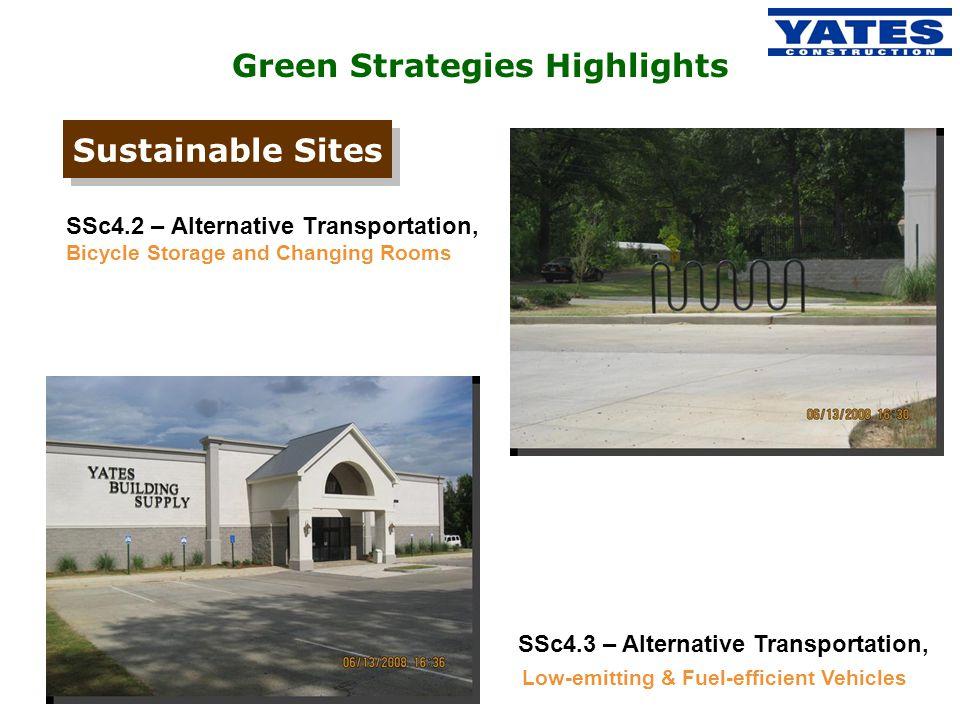 Green Strategies Highlights