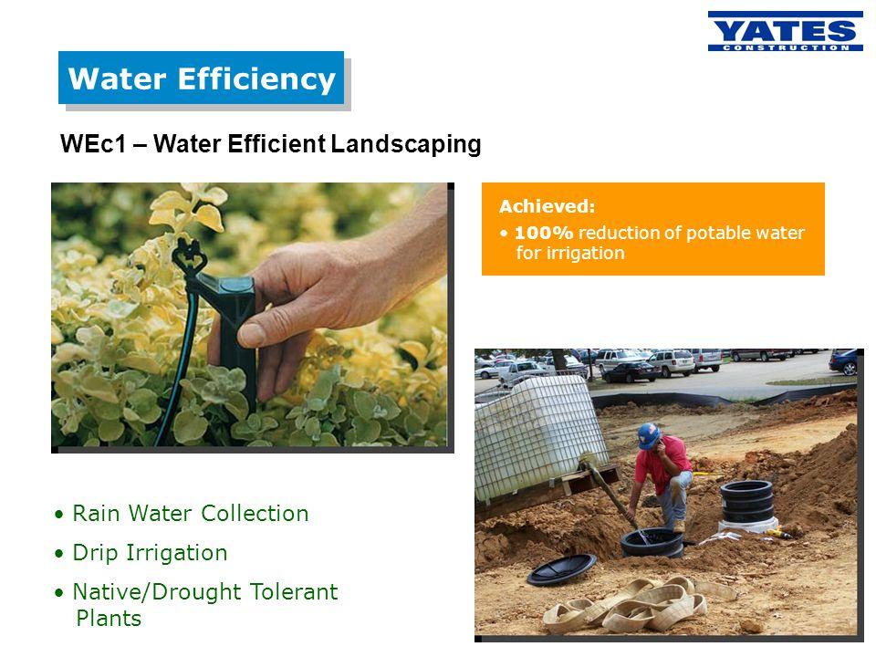 Water Efficiency WEc1 – Water Efficient Landscaping