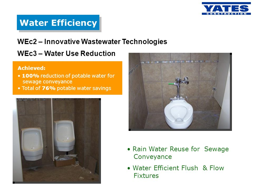 Water Efficiency WEc2 – Innovative Wastewater Technologies
