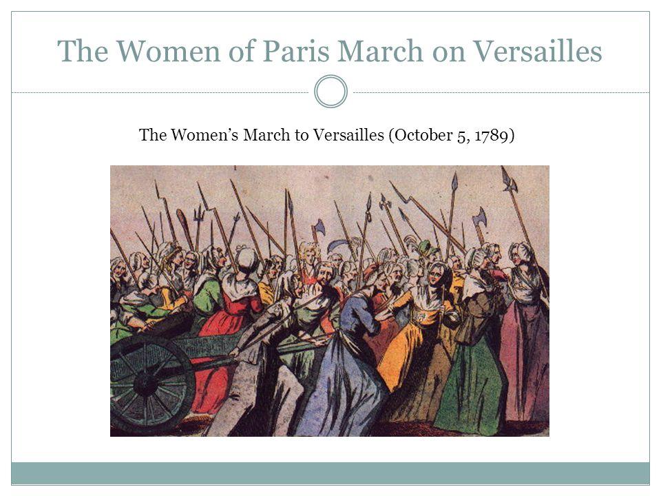 The Women of Paris March on Versailles