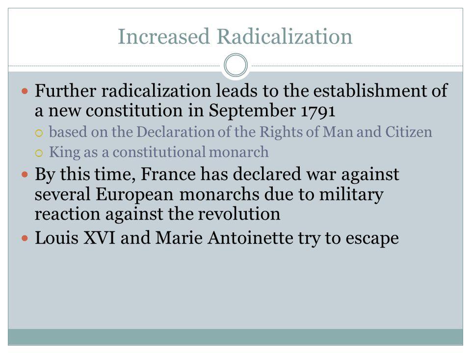 Increased Radicalization