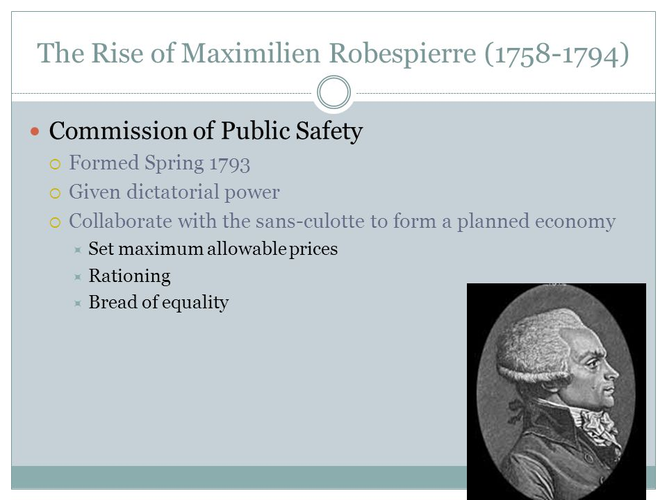 The Rise of Maximilien Robespierre (1758-1794)