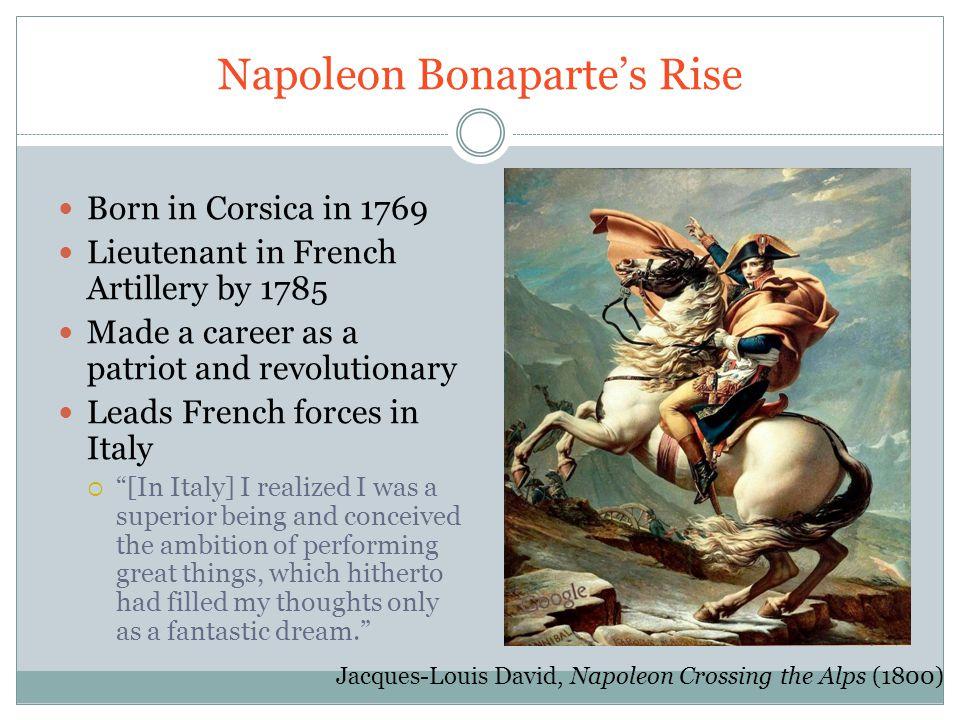 Napoleon Bonaparte's Rise