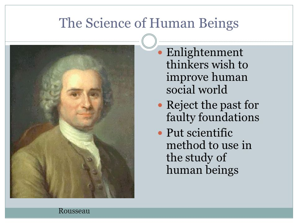 The Science of Human Beings