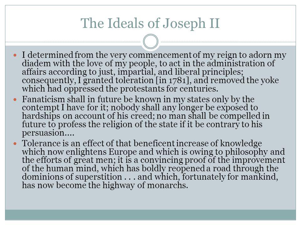 The Ideals of Joseph II