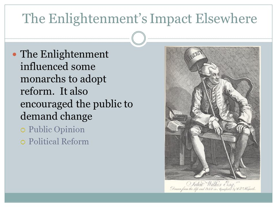 The Enlightenment's Impact Elsewhere