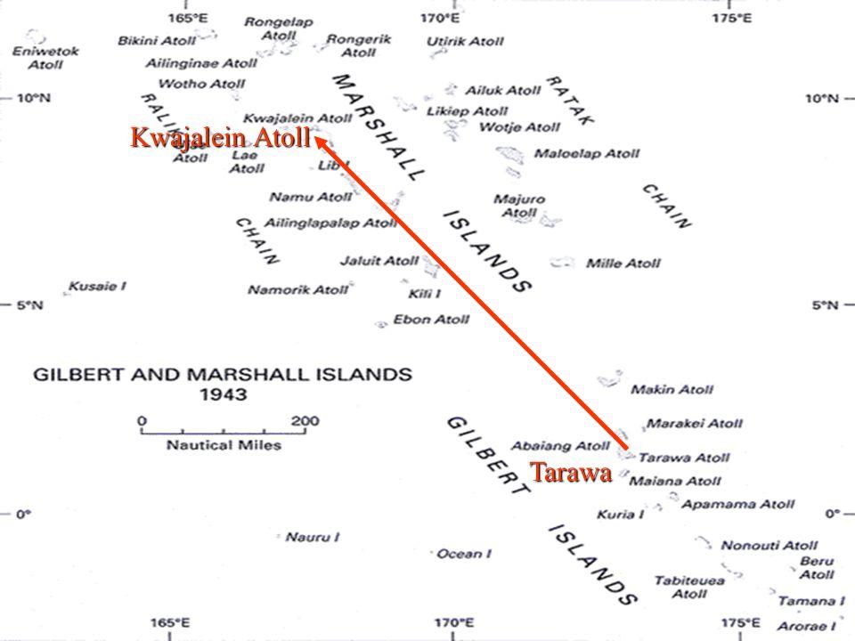 Kwajalein Atoll 15.2.18 Tarawa 20