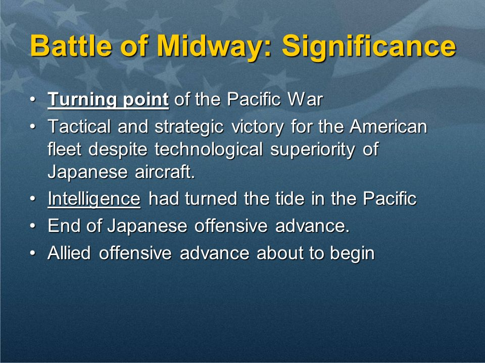 Battle of Midway: Significance