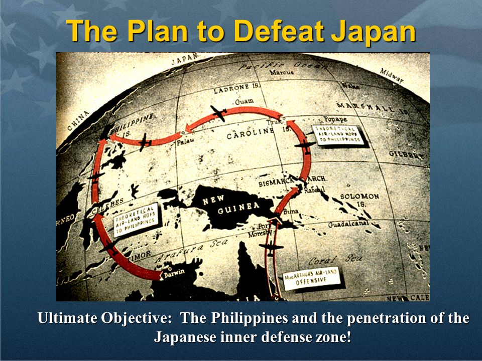 The Plan to Defeat Japan