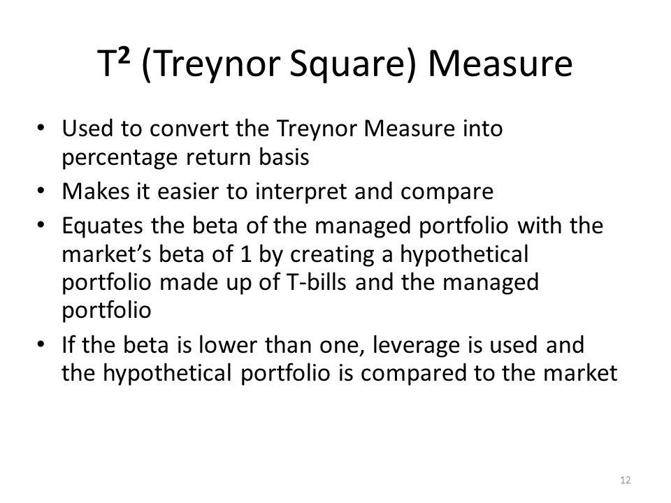 T2 (Treynor Square) Measure