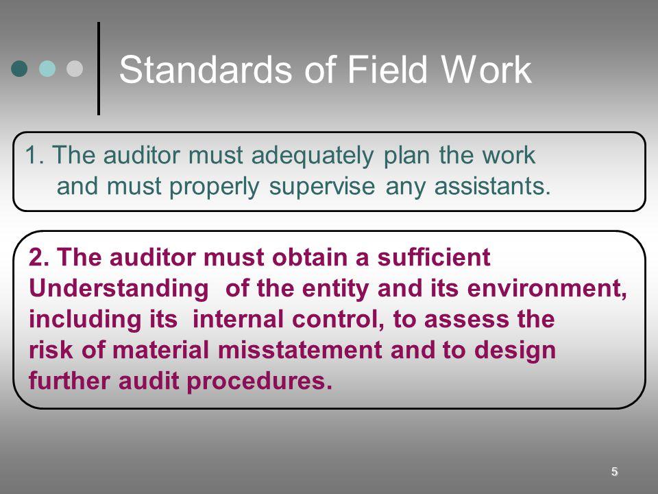 Standards of Field Work