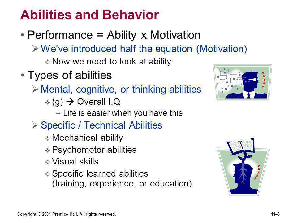 Abilities and Behavior