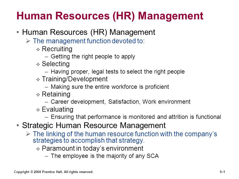 Human Resources (HR) Management