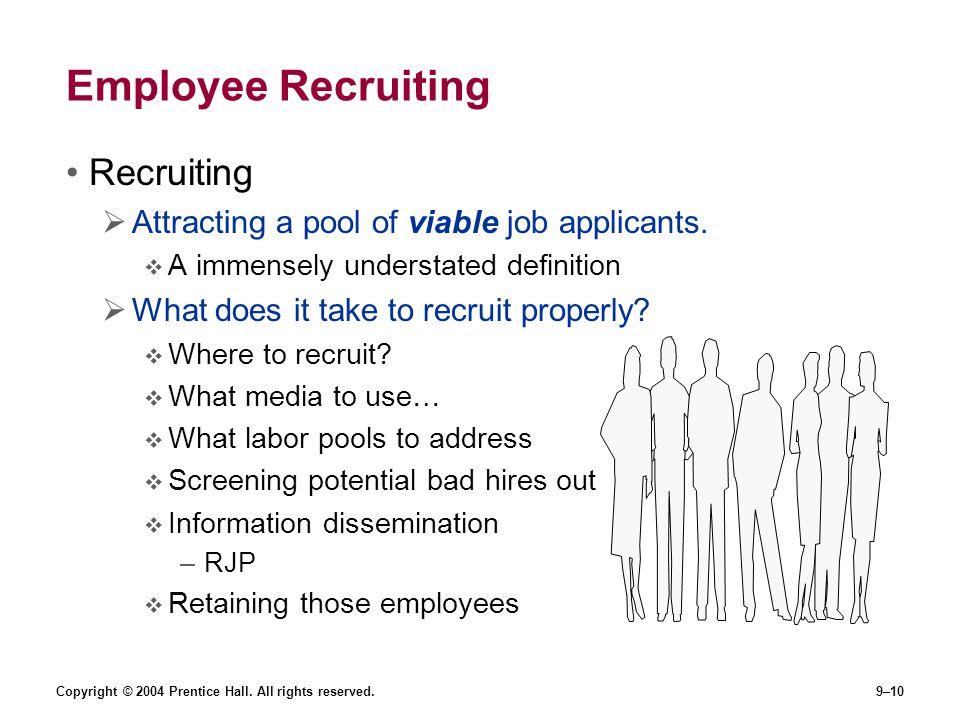 Employee Recruiting Recruiting