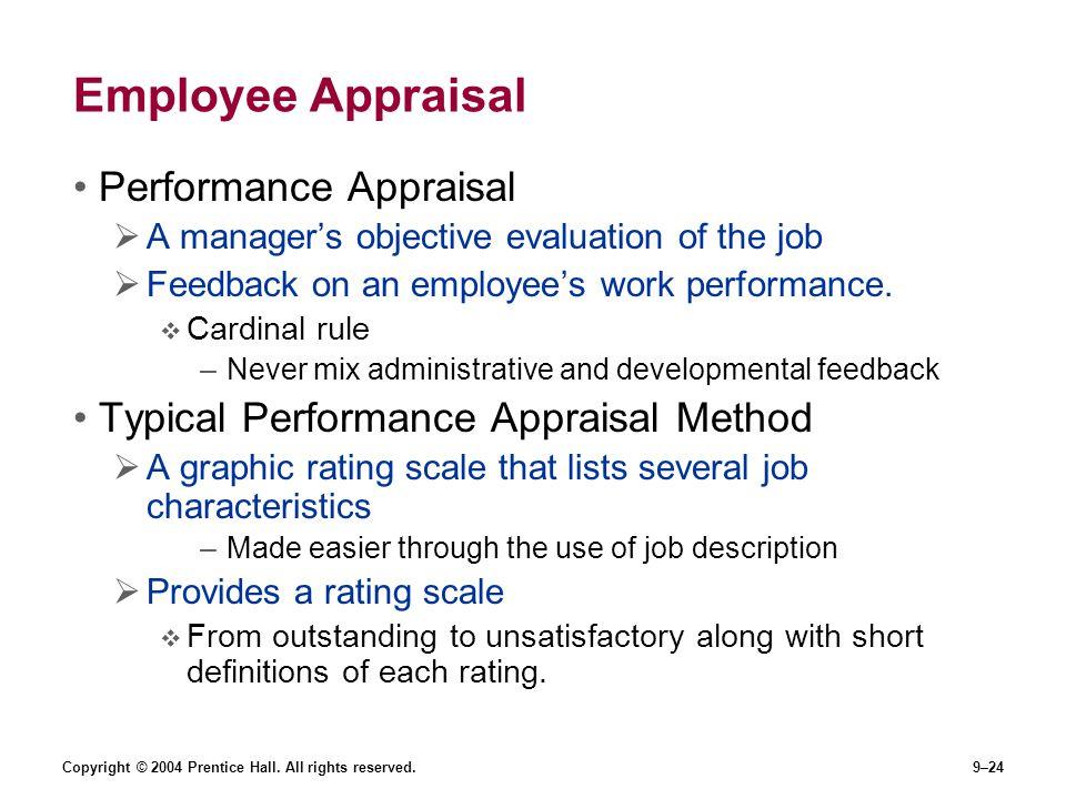 Employee Appraisal Performance Appraisal