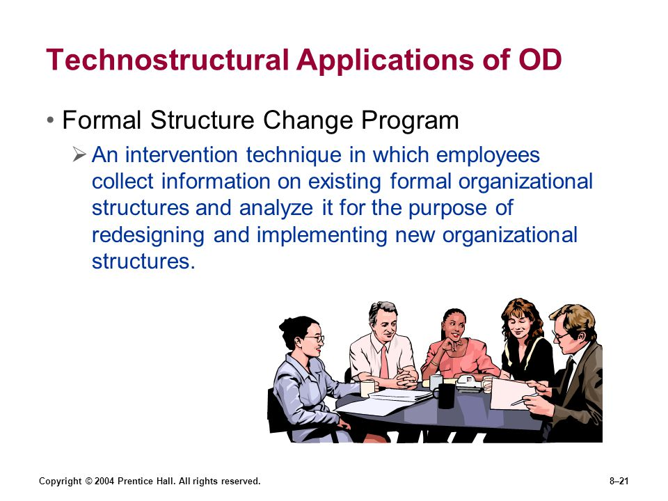 Technostructural Applications of OD