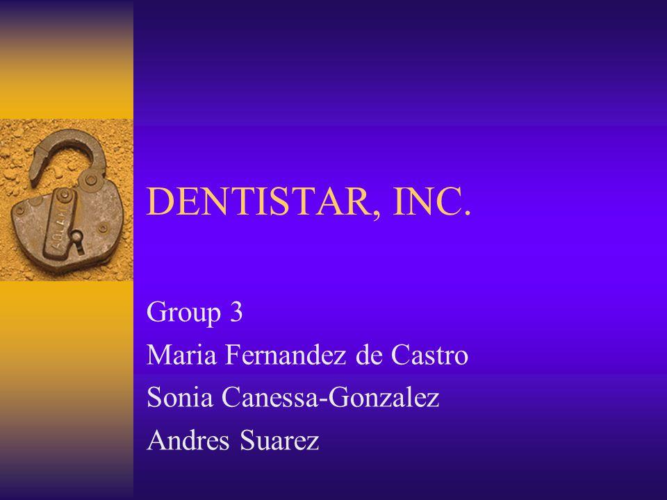 Group 3 Maria Fernandez de Castro Sonia Canessa-Gonzalez Andres Suarez