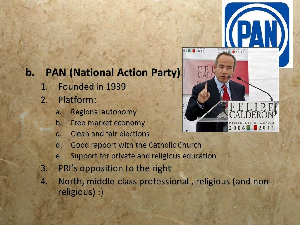 PAN (National Action Party)