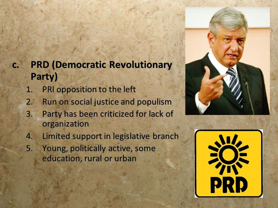 PRD (Democratic Revolutionary Party)