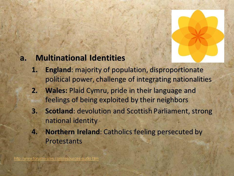 Multinational Identities