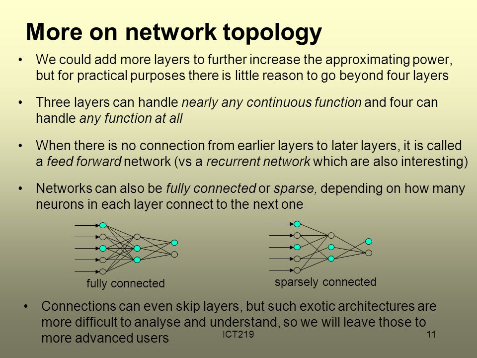 More on network topology