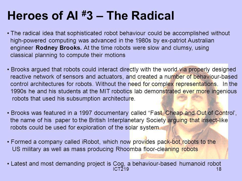 Heroes of AI #3 – The Radical