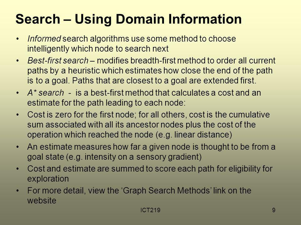 Search – Using Domain Information