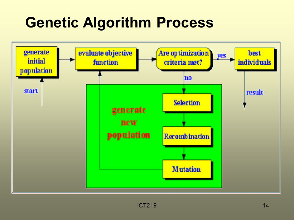 Genetic Algorithm Process
