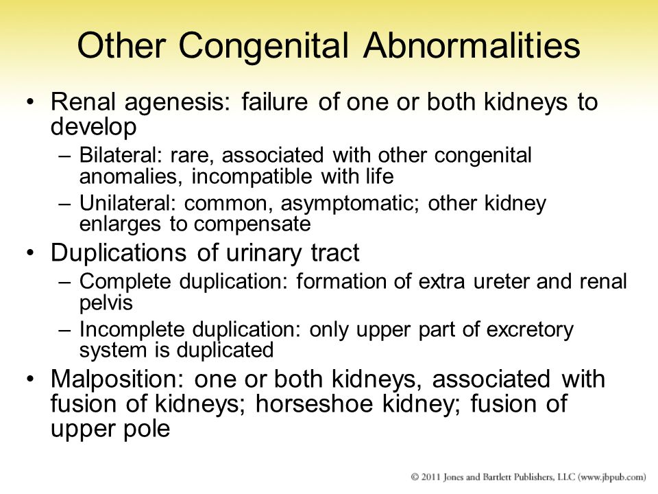 Other Congenital Abnormalities
