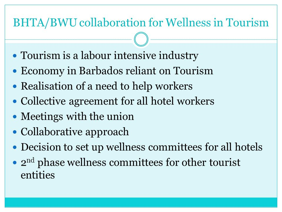 BHTA/BWU collaboration for Wellness in Tourism