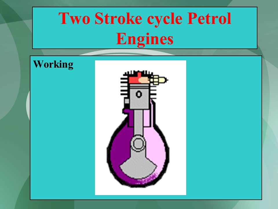 Two Stroke cycle Petrol Engines