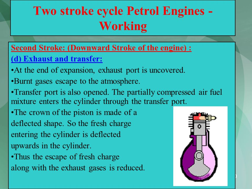 Two stroke cycle Petrol Engines - Working