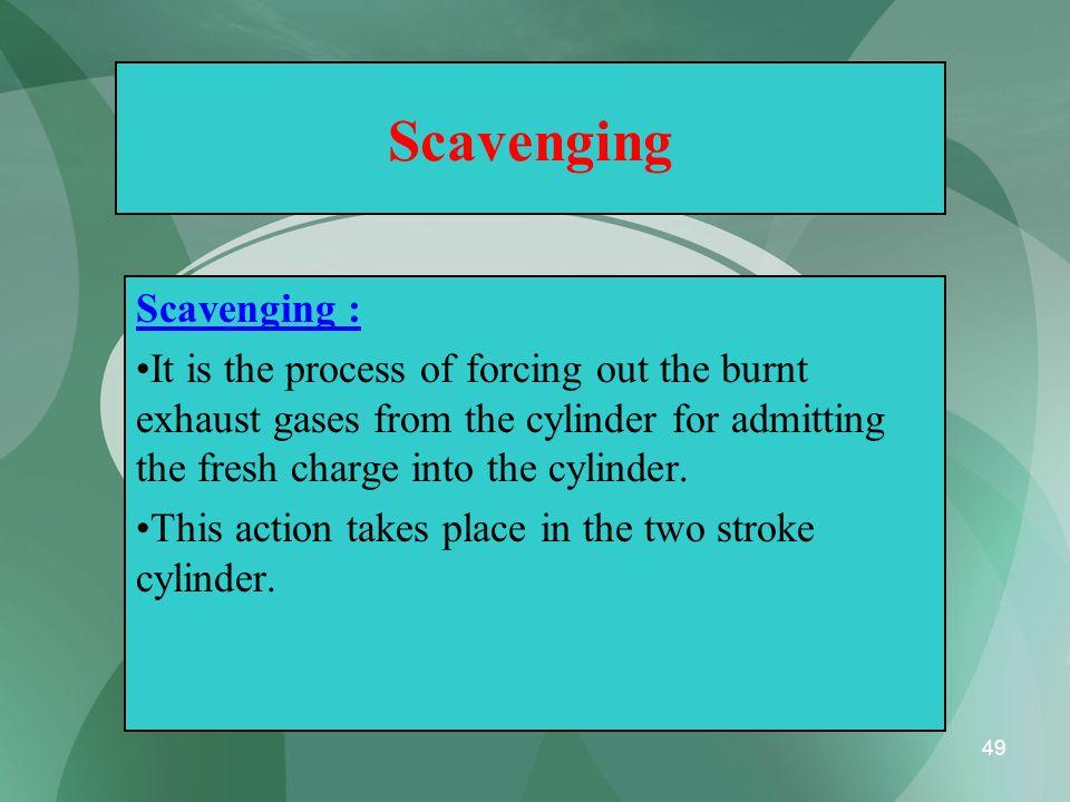 Scavenging Scavenging :