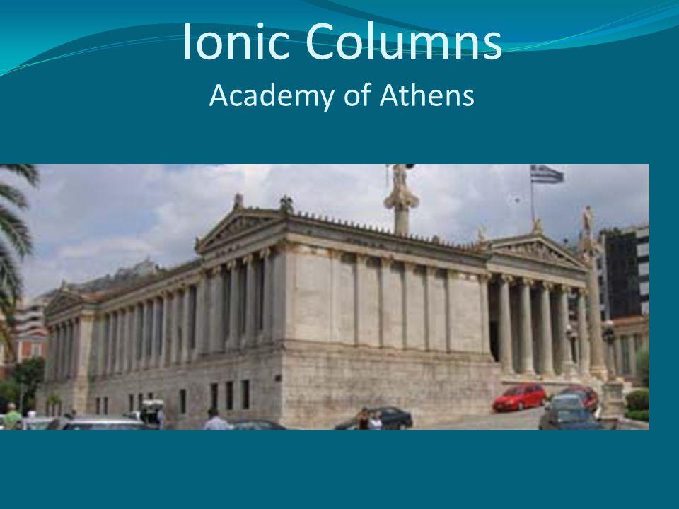 Ionic Columns Academy of Athens