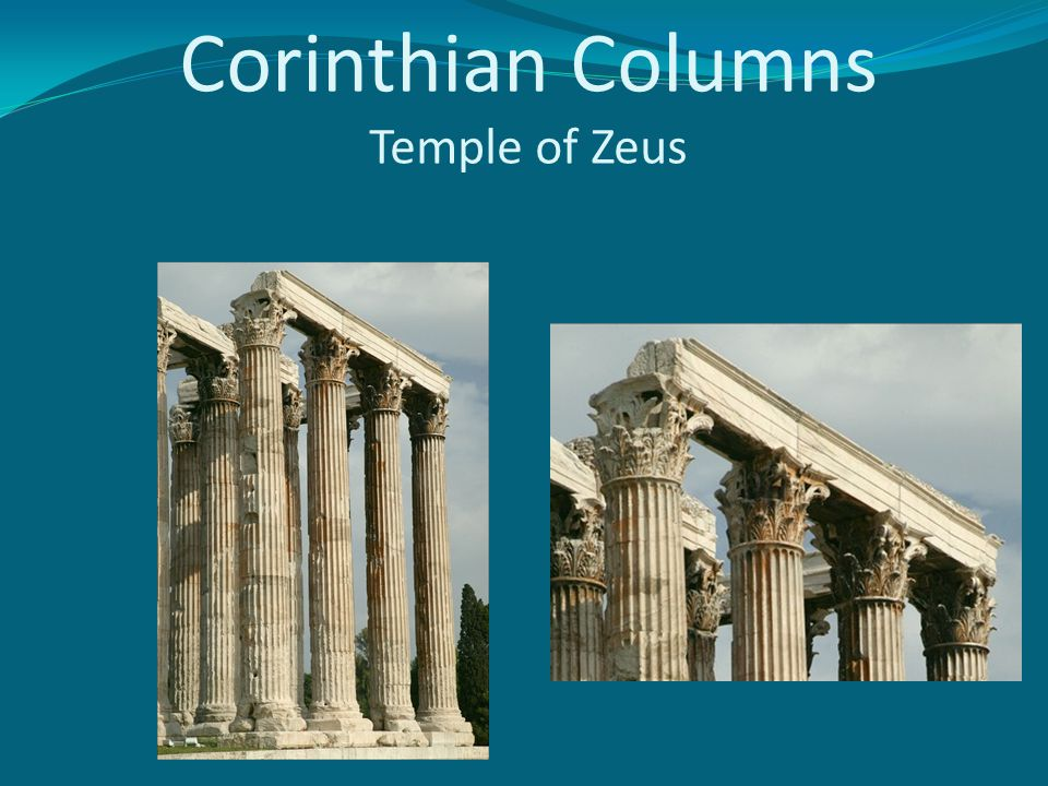Corinthian Columns Temple of Zeus