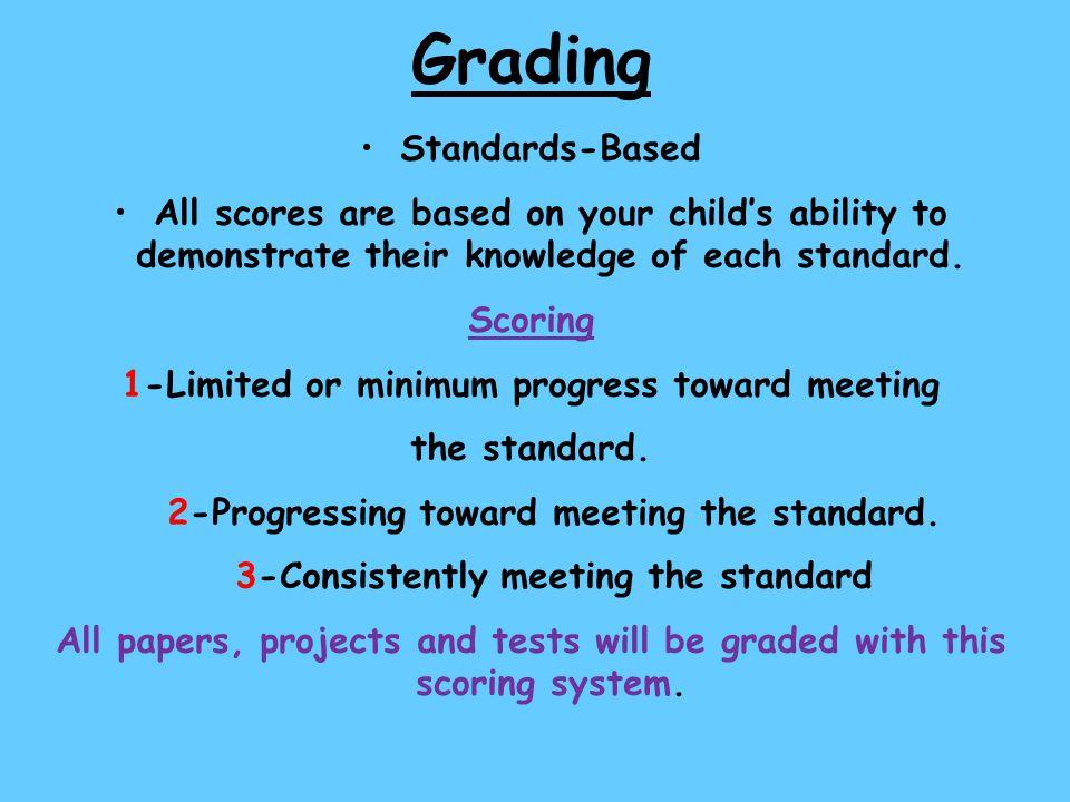 Grading Standards-Based