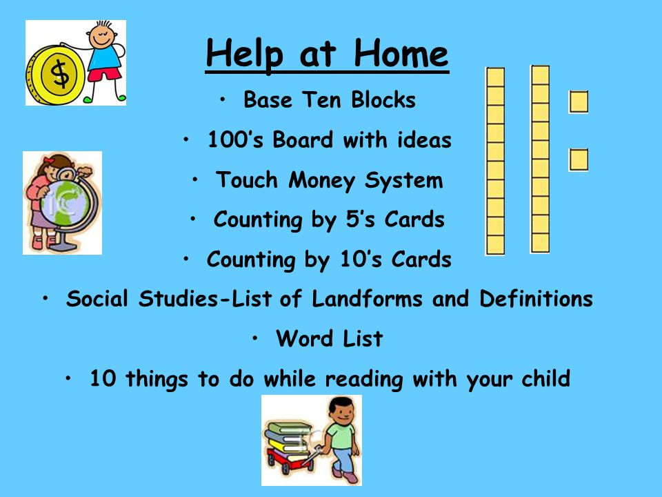 Help at Home Base Ten Blocks 100's Board with ideas Touch Money System