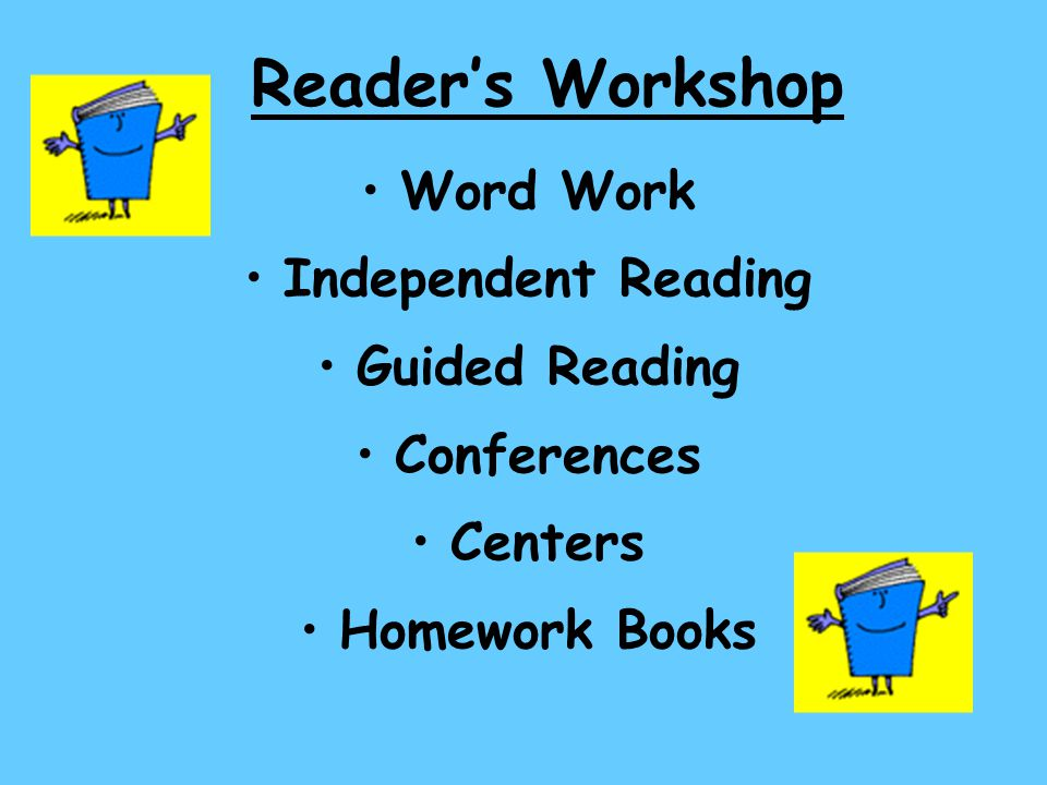 Reader's Workshop Word Work Independent Reading Guided Reading