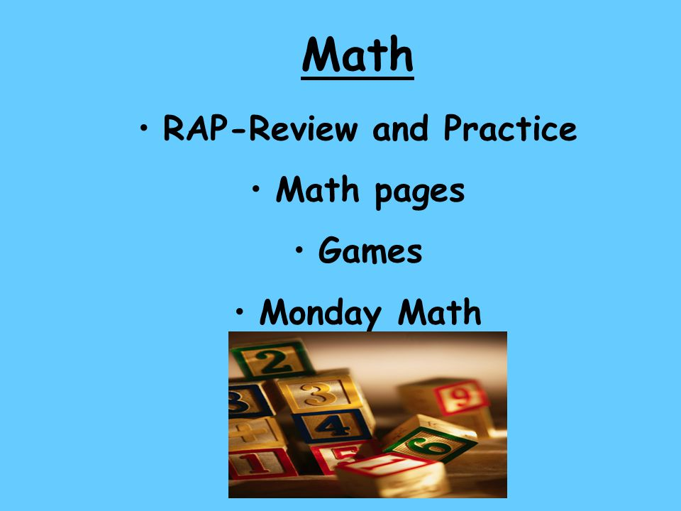 RAP-Review and Practice
