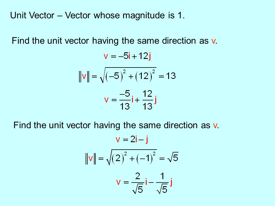 Section 4.1 – Vectors (in component form) - ppt download