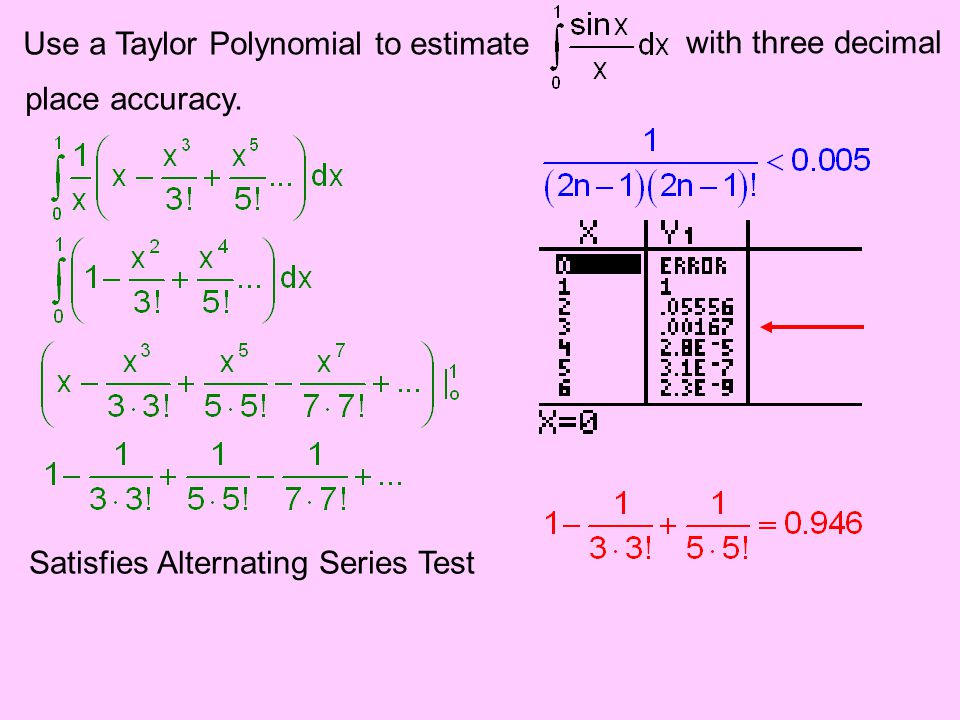 Use a Taylor Polynomial to estimate