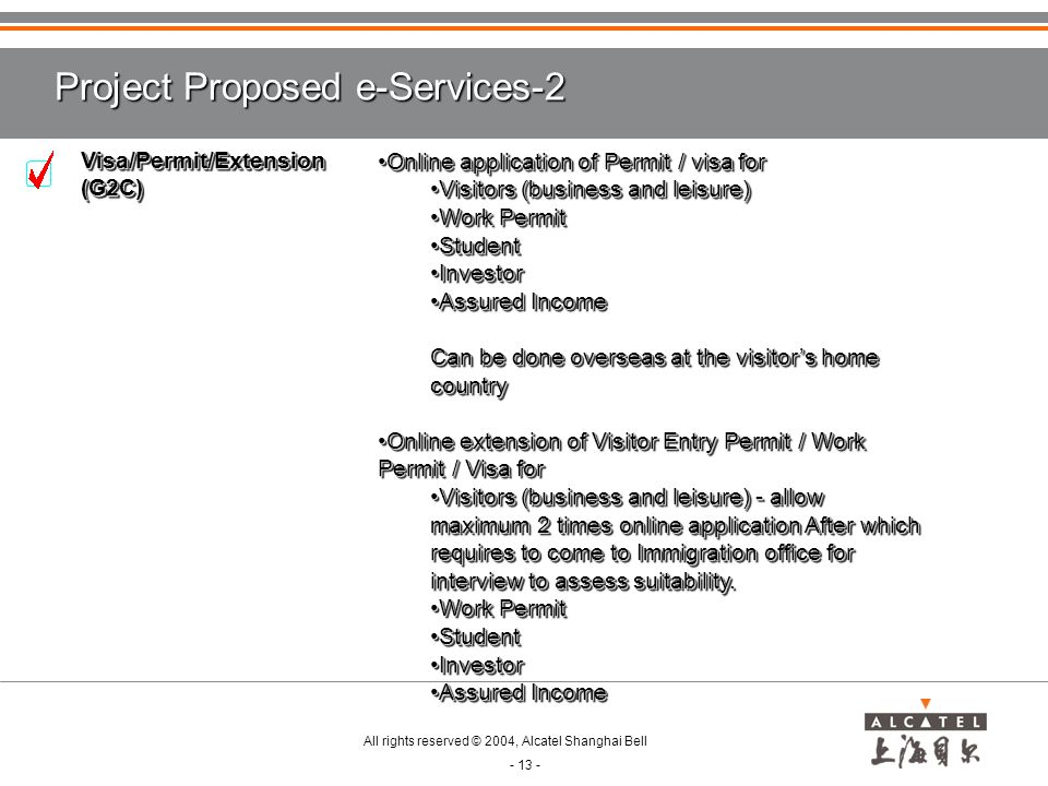 Project Proposed e-Services-2